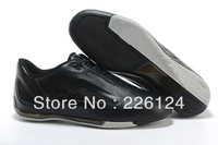 2013 new arrival high quality leather Por-sche racing shoes fashion casual shoes