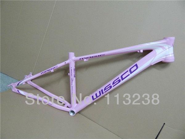 """Popular Wissco Female Lady Bicycle Frame Aluminium Alloy Mountain Bike Frames 26*15""""(China (Mainland))"""