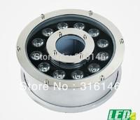 dia.180mm IP68 12W 12X1W led underwater light fountain  pool light