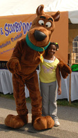 Hot Sale Adult Size Scooby-Doo Dog  Mascot Costume Festival Costumes Fancy Dress Suit Free Shipping