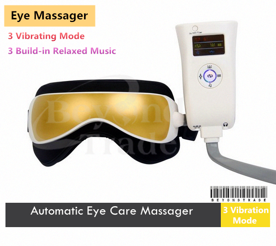 Hot Health Electric Magnetic Alleviate Fatigue Eye Care Relax Massager with Microcomputer Control,(China (Mainland))