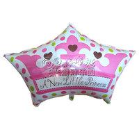 Little princess 18 aluminum foil aluminum balloon party supplies child birthday girl birthday  Free Shipping