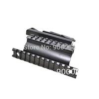 Quick Detach Tactical AK47 AK-47 Saiga Rifle/Shotgun 7.62x39 Side Plate Double Weaver-Picatinny Rail Scope-Sight Mount