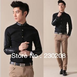 Black Clothing Designers For Men korean new dress men