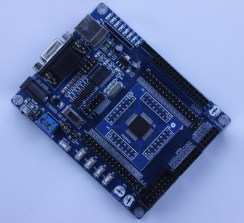 New MSP430F149 Mini System Development Board Support RS232 RS485  Free shipping