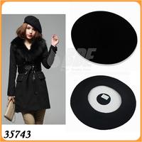New Fashion Joker Wool Warm Women's Beret Beanie Hat Cap Fashion Accessories Color Red Black  35742