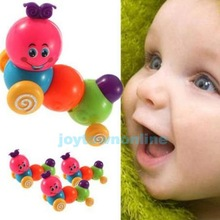Cute Wind up Carpenterworm Cutworm Clockwork Spring Bug Children Toy  #1JT(China (Mainland))