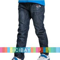 Retail Children Autumn New Clothes Boys Jeans Fashion Kids Pants,Spring Wear,Free Shipping K2191