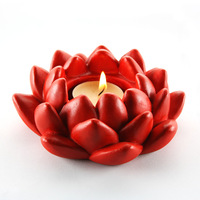 iShow At home classic red lotus mousse classical mousse candle