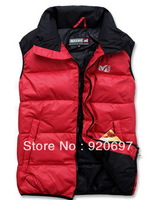 2013 , The winter jackets , Warm 90% Down jacket , Man's down vest , Winter sport jacket , Down & parkas brand coat