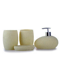 Fashion bathroom four piece set clean toiletries sanitary ware bathroom set
