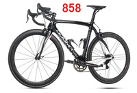 2014 Pinarello 858 model DI2 Dogma 65.1Carbon Bicycle Frame+fork+seatpost+clamp+headset+ carbon wheelset + handlebar bike frame