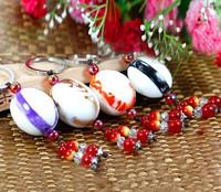 Free Shipping    Fashion Jewelry Pebbles key jade key pendant classmate birthday gift
