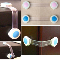 Wholesale Lots 20pcs New Cupboard Door Drawers Security Safety Lock Locks For Child Kids Toddle