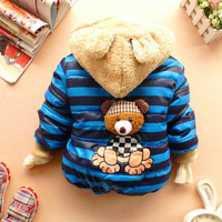 Free shipping 2013 new boys jackets, cartoon boys clothes, children coat, kids clothing, boys winter clothes, 3 sizes