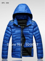 Newest design.Top quality ,Warm 90% Down jacket , Man's with hood coat , Winter sport jacket , Down & parkas brand coat