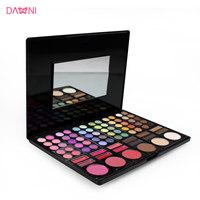 Danni professional 78 make-up box eye shadow plate make-up set full set combination