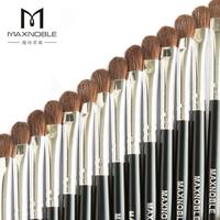 Small maxnoble horsehair eye shadow brush cosmetic brush powder of pure animal wool