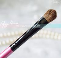Soft horsehair eye shadow brush hihglights brush portable rose lever