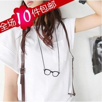 wholesale 10pcs/lot Small accessories fashion sweet long design personalized glasses necklace female