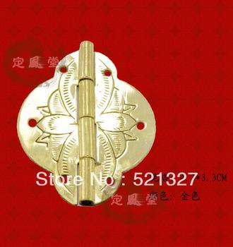 Antique furniture, copper rocking leather hinge CH-015 4.3CM