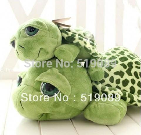 Hot NICI Plush Toys 1pcs 40CM Big Eyes Turtle / Tortoise Stuffed animals Plush Toy Free Shipping(China (Mainland))