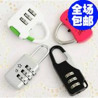 2014 NEW steel wire lock diary lock tsa lock trolley luggage bag password lock luggage lock free shipping
