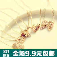 FREE shipping wholesale 10pcs/lot 1711 fashion personality gold necklace the mark necklace accessories