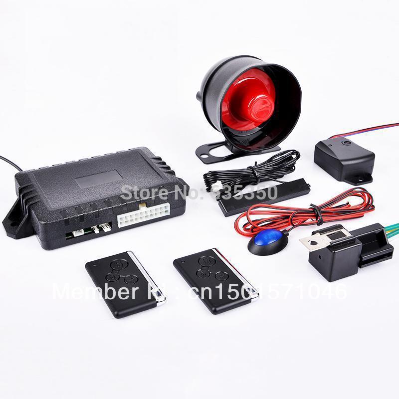 System Pke Car Alarm Systemkeyless Entry Systemnew Model