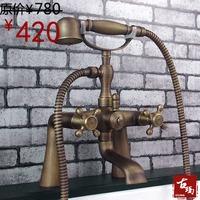 Bathtub faucet quality antique copper bathtub hot and cold faucet guanchong 720f