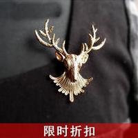 wholesale 10pcs/lot G-0008 fashion accessories vintage elizabethans brooch corsage silk scarf buckle 9.9