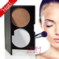Amm two-color trimming powder hihglights powder xiu yan powder large capacity face-lift 01 repair