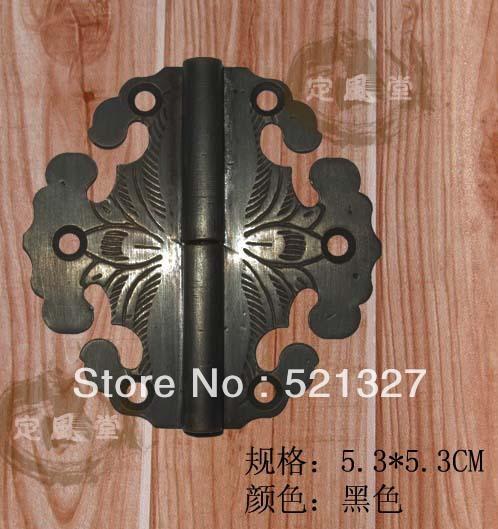 Antique furniture hinge copper rocking leather hinge CH-013 5.3CM black(China (Mainland))
