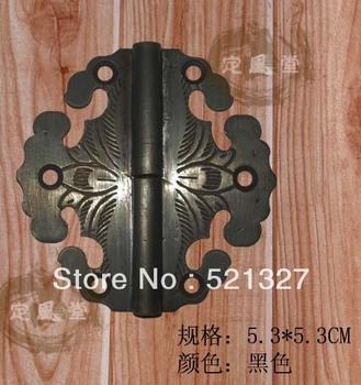 Antique furniture hinge copper  rocking leather hinge CH-013 5.3CM black