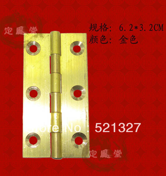Antique copper hinge cabinet door hinge brass copper leather rocking CH-018 6.2CM(China (Mainland))