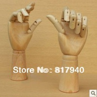 Wooden Articulated Hand mannequin Left & Right Set, wooden hand model,model hand artist,wooden hand sculpture