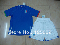 13 -14 New Season Italy Soccer  home blue jersey, thai quality italy football suit ,Hot sell sports apparels
