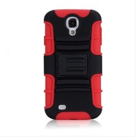 For Samsung S4 SIV i9500 Rugged Hybrid Heavy Duty Stand Hard Case Cover Holster