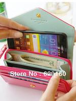 Crown iphone mobile phone package multifunction bag female models Samsung Clutch card package
