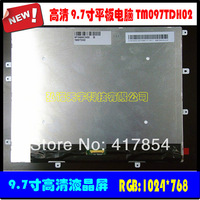 Free shipping 9.7 inch HD LCD TM097TDH02 for PAD mid Tablet Display screen,1024*768