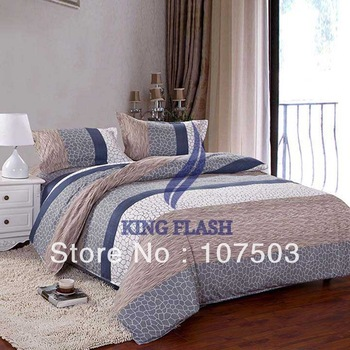 Big Promotion High Quality Comfortable Home Bed Bedding Set Duvet Cover Bed Set Quilt Cover Bedspread Pillowcase 16942