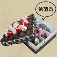 Diy material cutting kit diy handmade cake box storage box cloth glove box