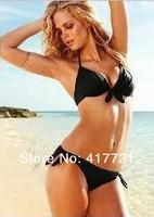 ML37081 Wholesale Cheap Sexy black Female Fashion Swimming Suit for Women Bikini Sets