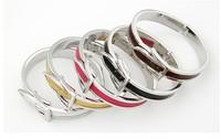 Wholesale 6pieces Fashion and  Retro Elegant exquisite Belt Buckle Bracelet drop shipping