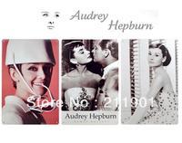 Free Shipping Audrey Hepburn Retro Tin Signs 3pcs/lot