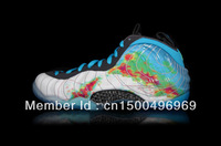 2013 air foamposites one galaxy penny hardaway mens basketball shoes Trainers for sale wholesale Free shipping