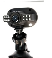 2013 Newest Mini Size Full HD 1280*720p12 IR LED Car Vehicle CAM Video Camera C600 Recorder Russian Car DVR