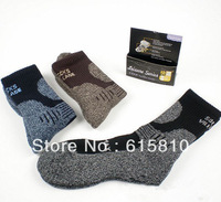 (SM024) Outdoor sports hiking socks thick cotton mountaineer towel Socks warm winter socks for men fashion casual deodorant