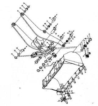 wheel loader spare parts CHANGLIN ZL50H WORKING EQUIPMENT & BUCKET