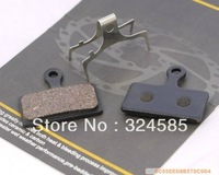 2 Pairs/lot MTB Road bike Organic Disc brake pads fit SHIMANO 2011 XTR M985 M988 XT M785 SLX M666, free shipping